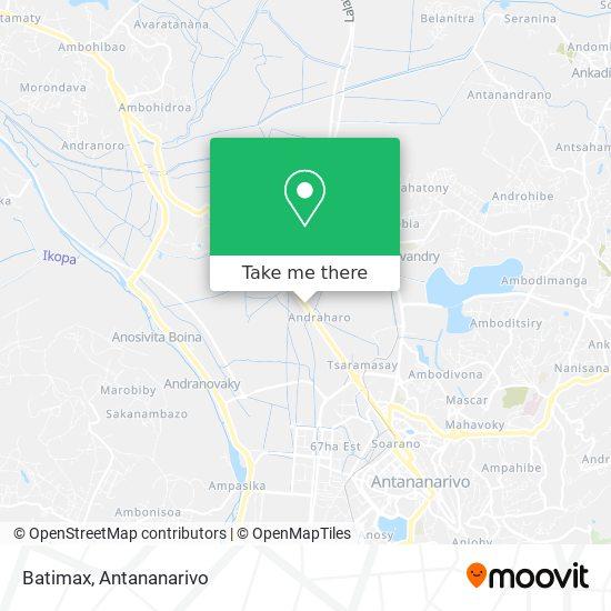 Batimax map
