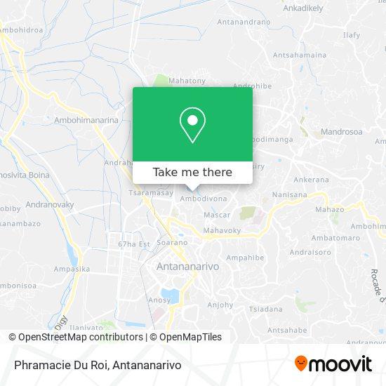 Phramacie Du Roi map