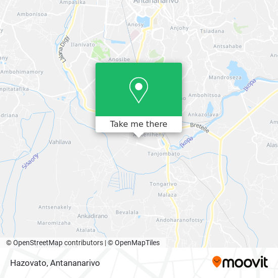 Hazovato map