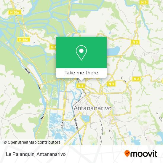 Le Palanquin map