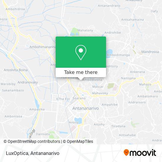 LuxOptica map