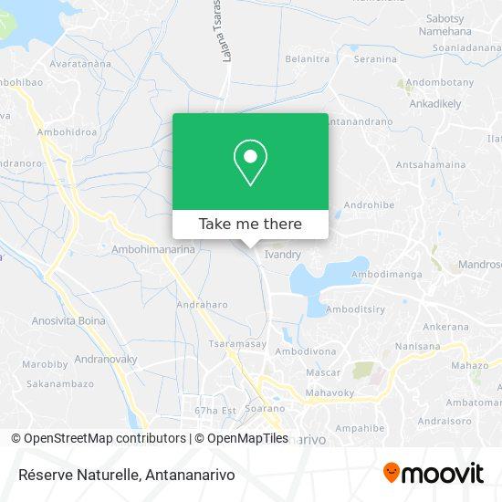 Réserve Naturelle map