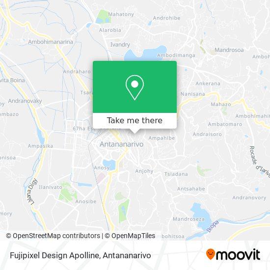 Fujipixel Design Apolline map