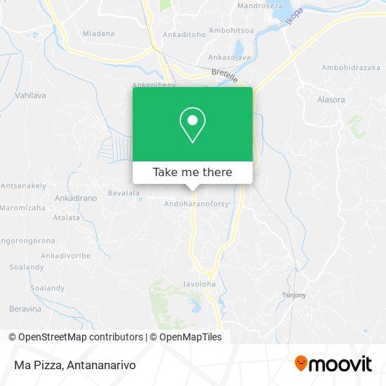 Ma Pizza map