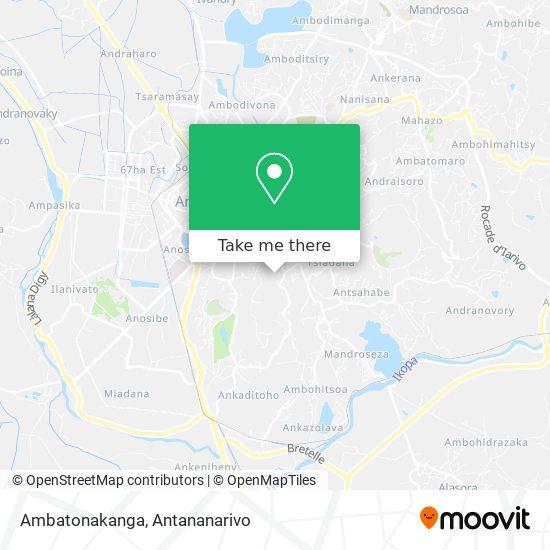 Ambatonakanga map