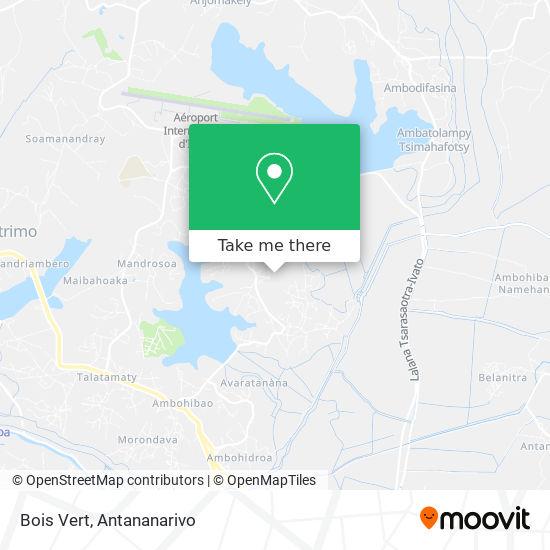 Bois Vert map
