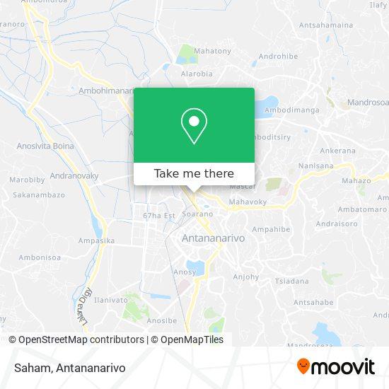 Saham map