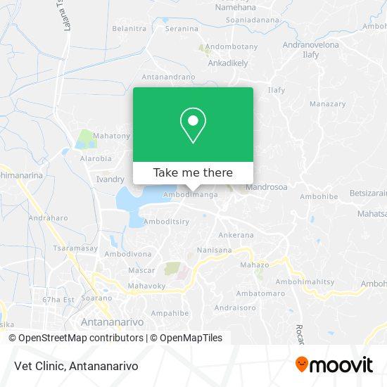 Vet Clinic map