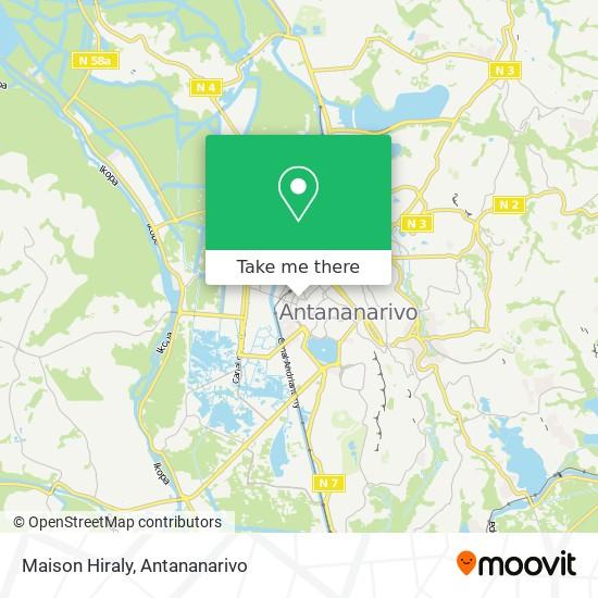 Maison Hiraly map