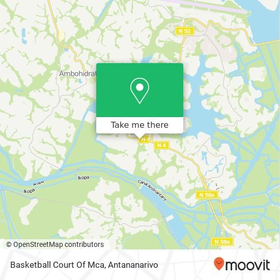 Basketball Court Of Mca map