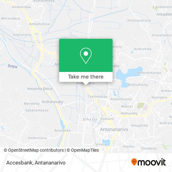 Accesbank map