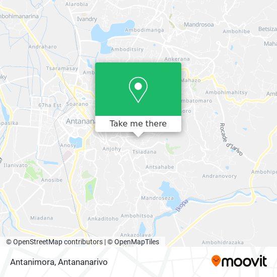 Antanimora map