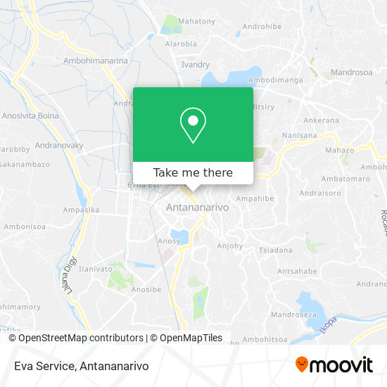 Eva Service map