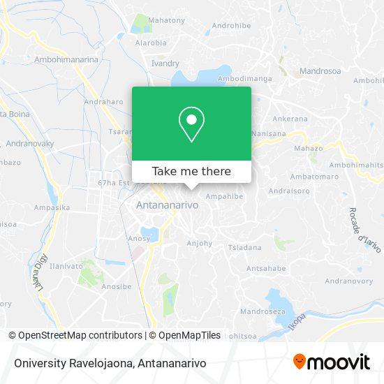 Oniversity Ravelojaona map