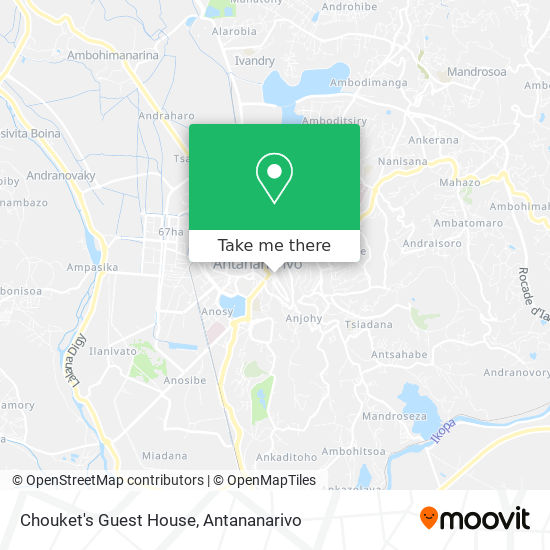 Chouket's Guest House map