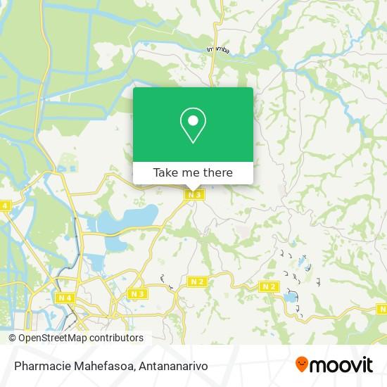 Pharmacie Mahefasoa map