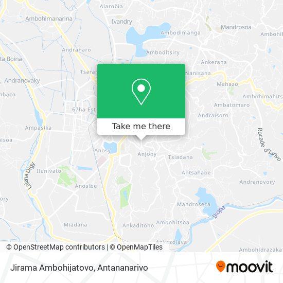 Jirama Ambohijatovo map