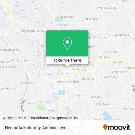 Nectar Ankadifotsy map