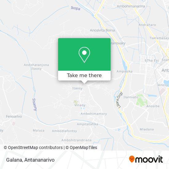 Galana map