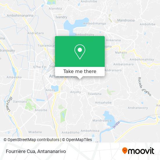 Fourrière Cua map