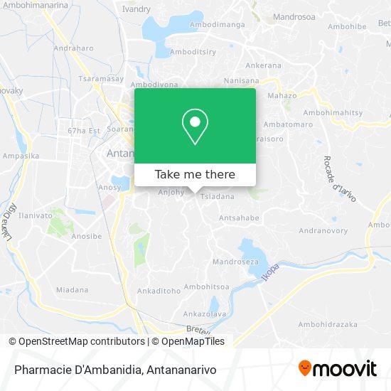 Pharmacie D'Ambanidia map