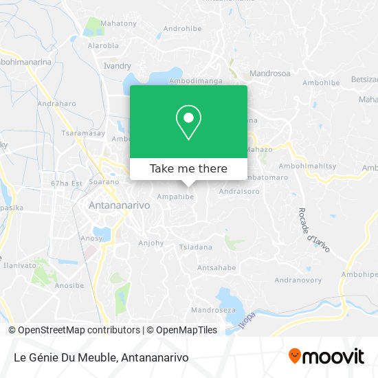 Le Génie Du Meuble map