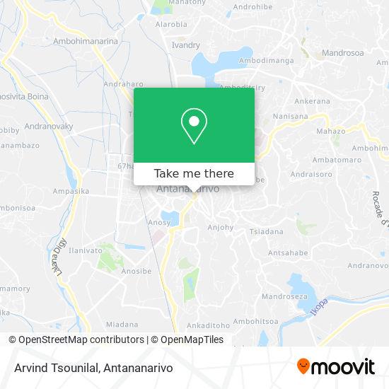 Arvind Tsounilal map
