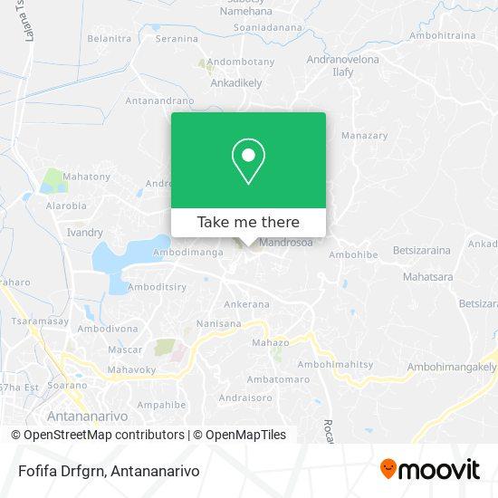 Fofifa Drfp map