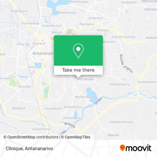 Clinique map