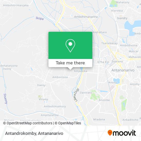Antandrokomby map