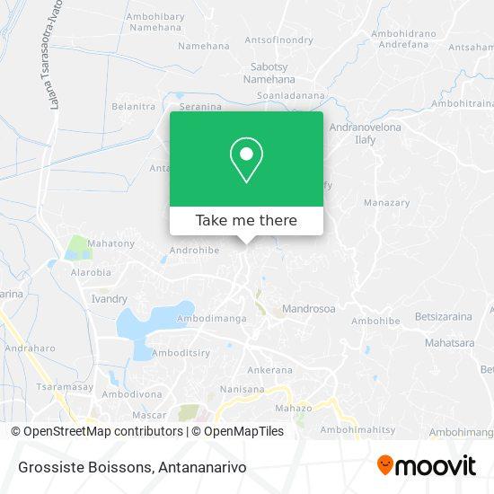 Grossiste Boissons map