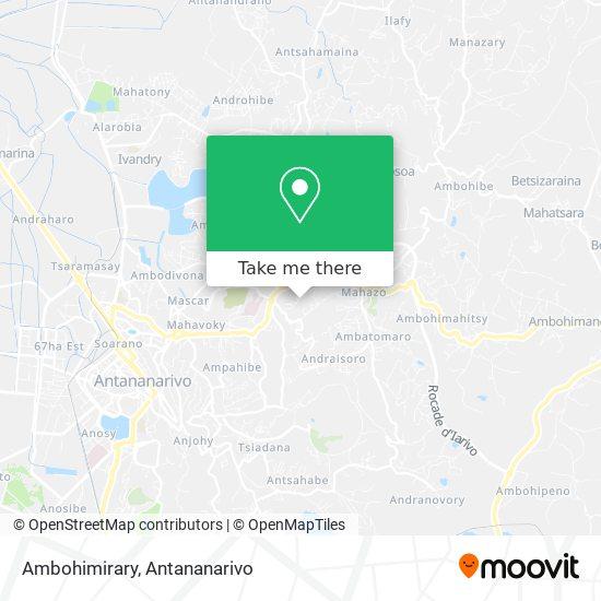Ambohimirary map