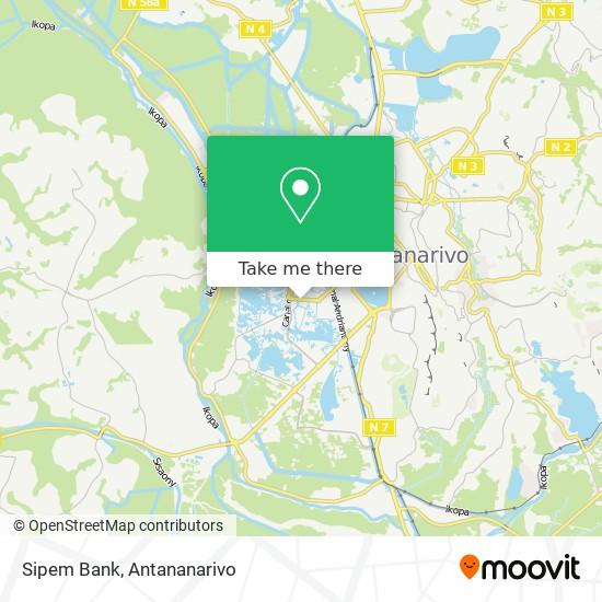 Sipem Bank map