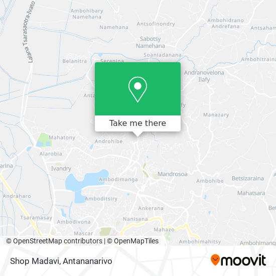 Shop Madavi map