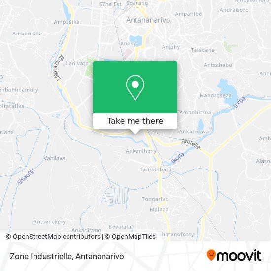 Zone Industrielle map