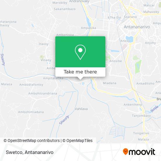 Swedco map