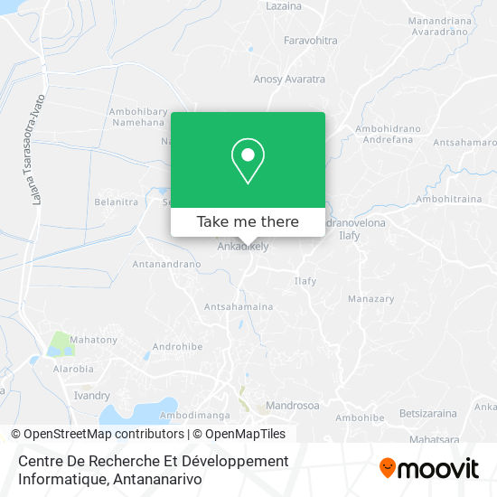 Centre De Ressources Crfdi map