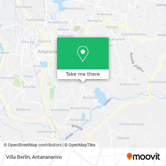 Villa Berlin map