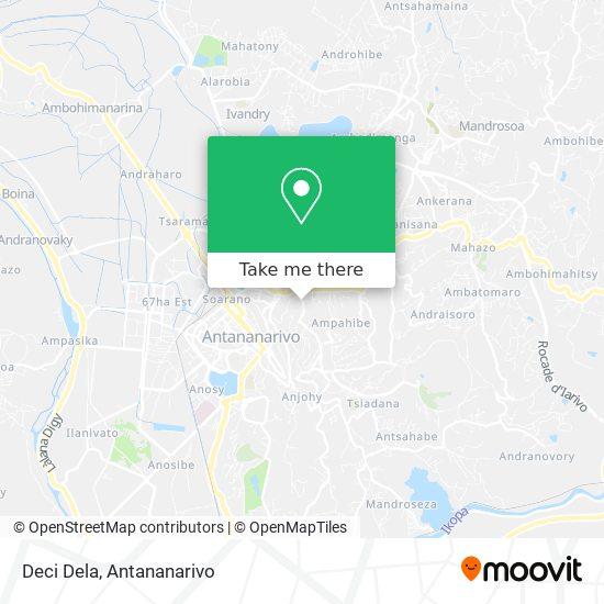 Deci Dela map