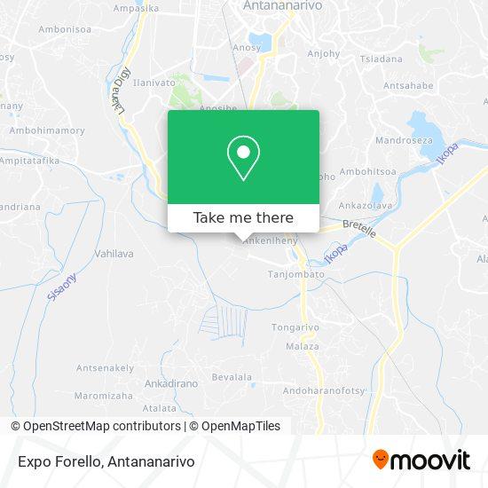 Expo Forello map