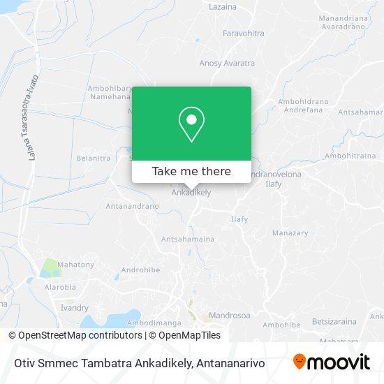 Otiv Tambatra Ankadikely map