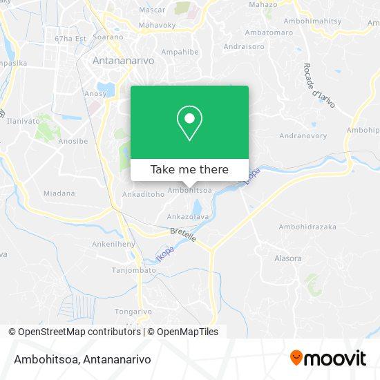 Ambohitsoa map