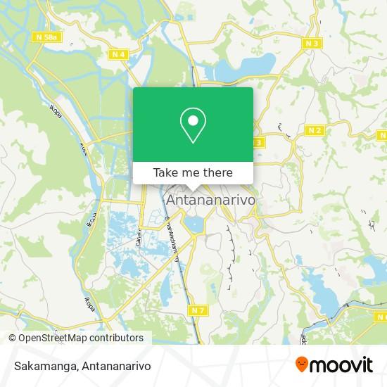 Sakamanga map