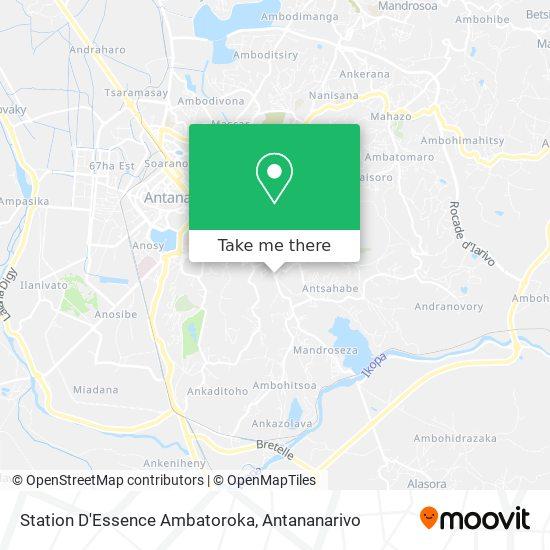 Station D'Essence Ambatoroka map