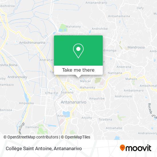 Collège Saint Antoine map
