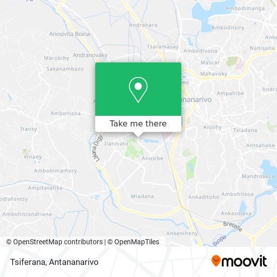 Tsiferana map