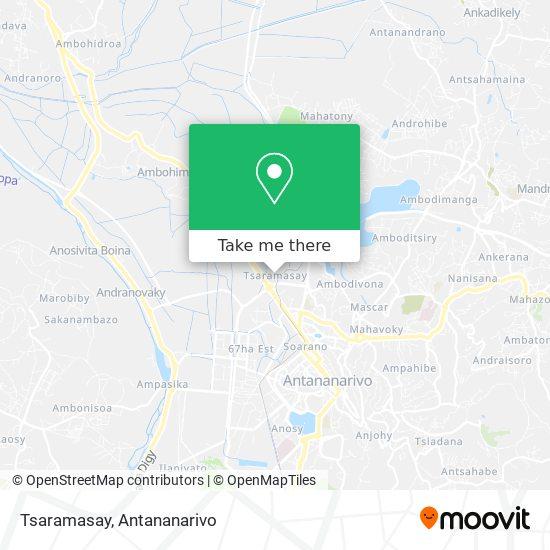 Tsaramasay map