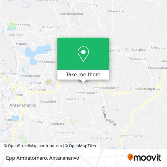 Epp Ambatomaro map
