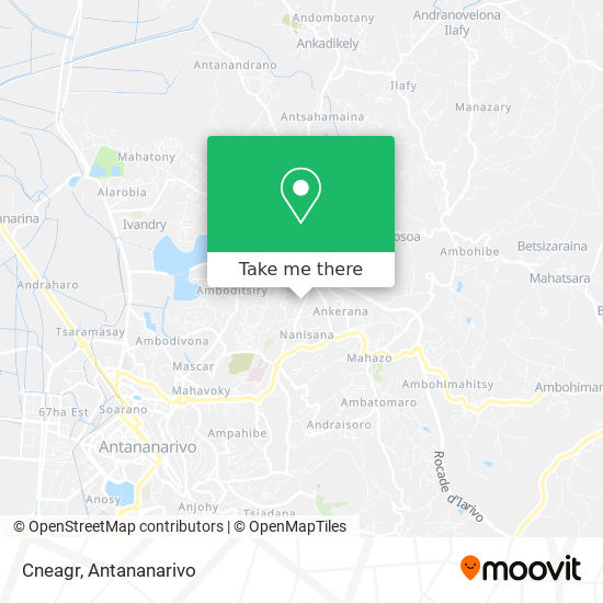 Cneagr map