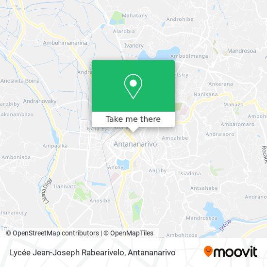 Lycée Jean-Joseph Rabearivelo map